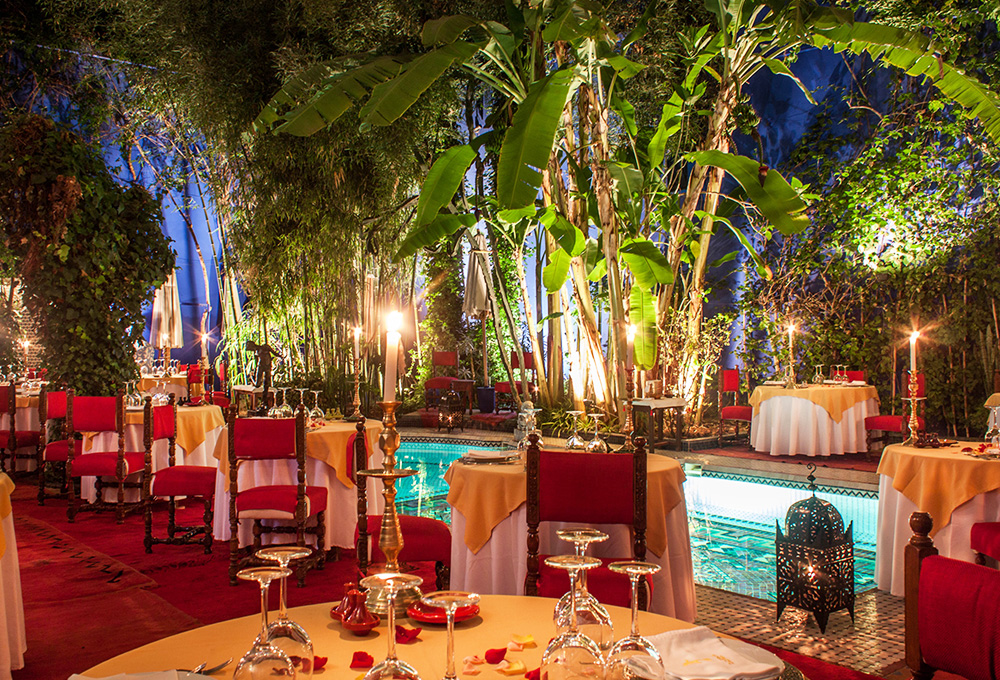 Dar moha for Restaurant le jardin marrakech medina